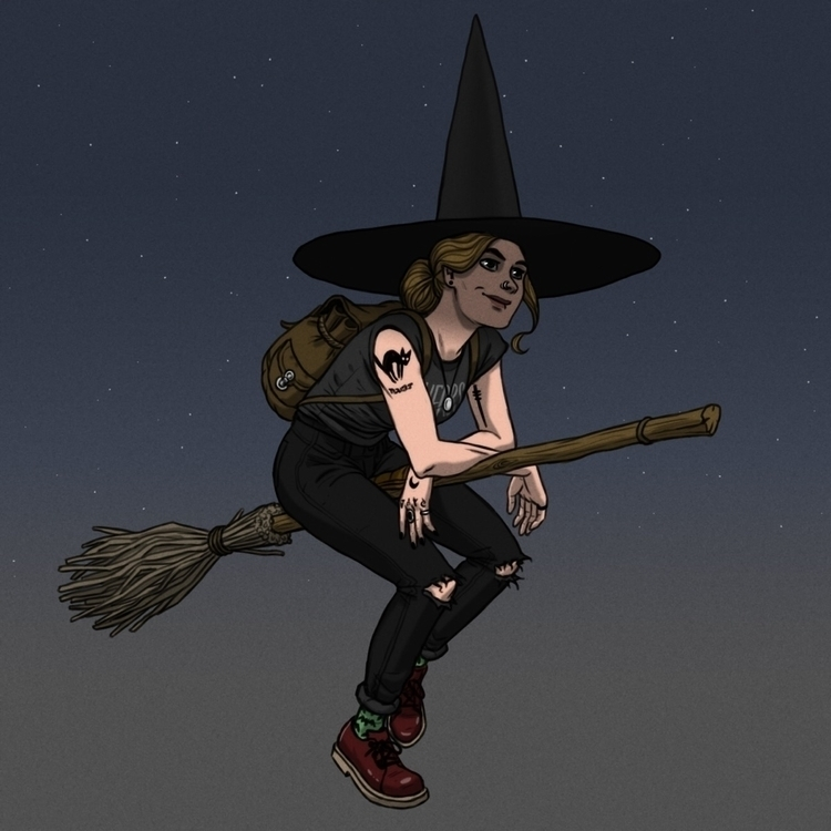 drawing witch Instagram - witches - jamesnathan | ello