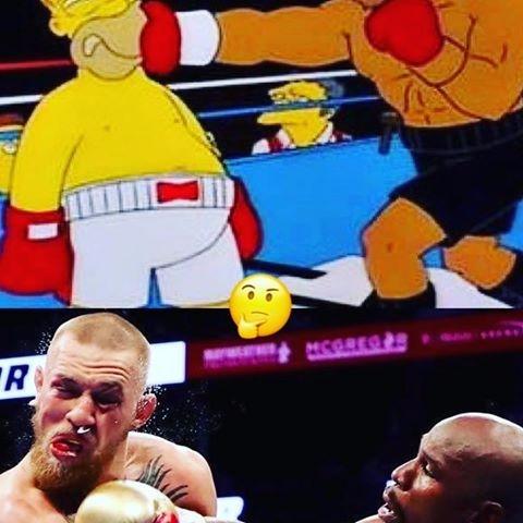 boxing bout knocked episode - Mayweather - vicsimon | ello
