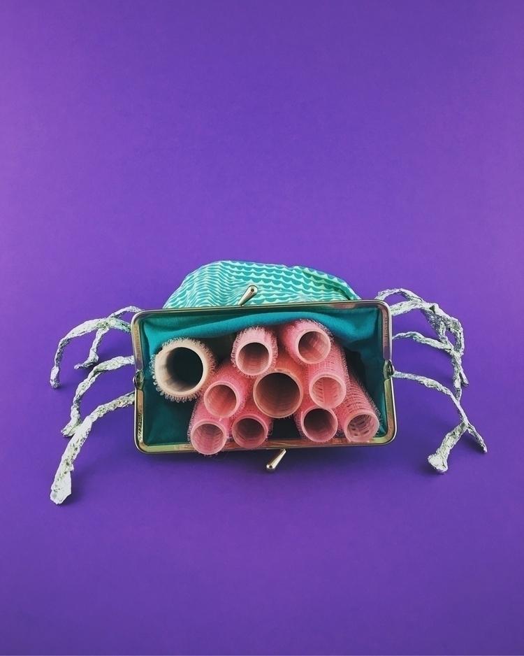 Arachnophobia  - curlers, folio - jogeluspogelus | ello