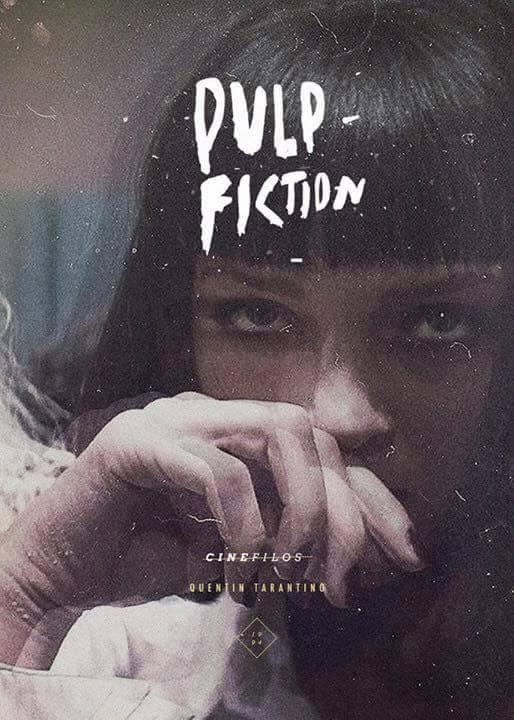 Pulp Fiction Poster Design - illustration - paulearly   ello
