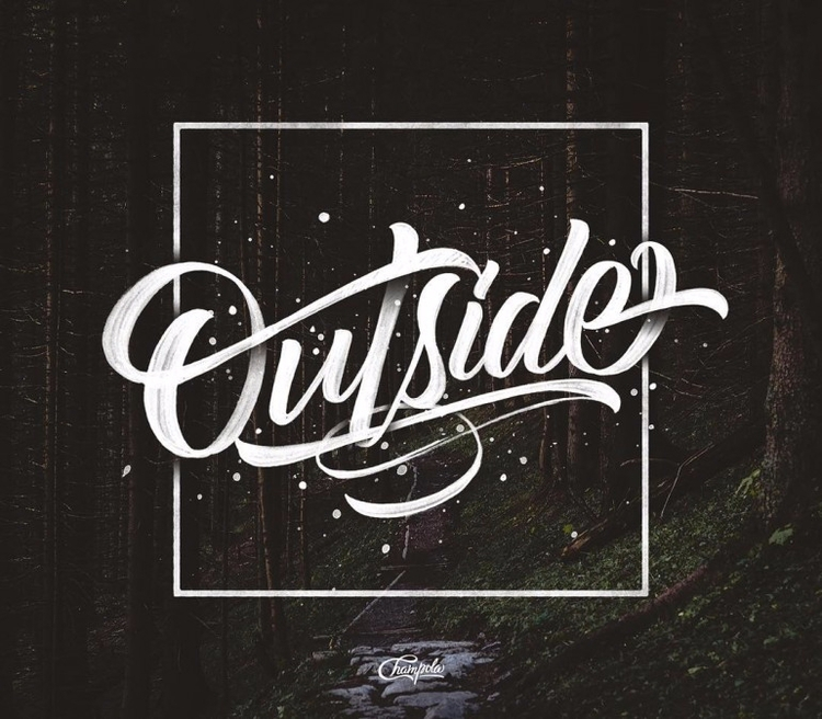 typography, handlettering, calligraphy - paulearly | ello