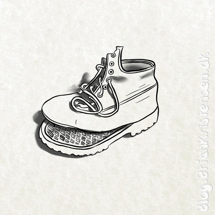 Draw - broken, boots - art2u   ello