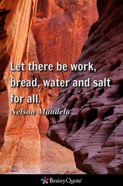 work, bread, water salt - Nelso - ericpena | ello
