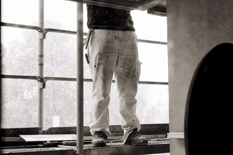 Man work - blackandwhitephotography - borisholtz | ello