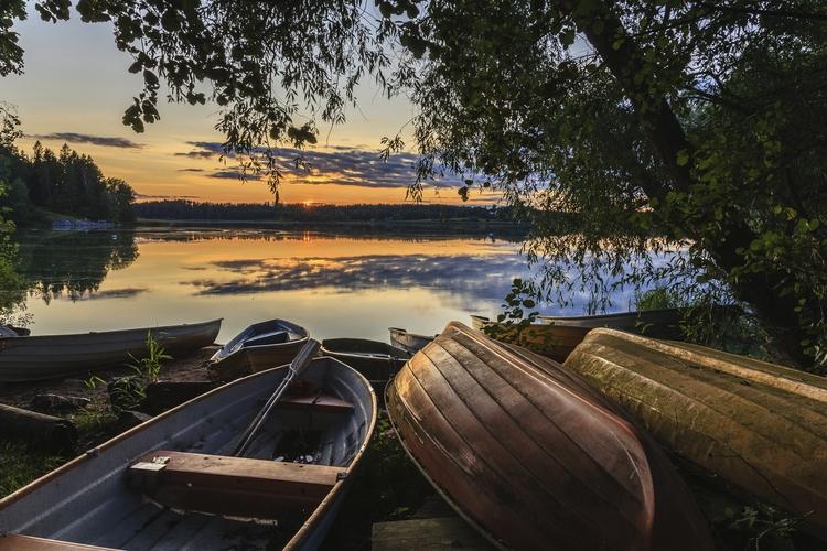 Early Autumn sunset - photography - anttitassberg | ello