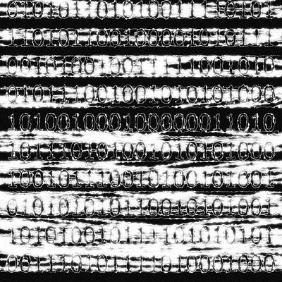 Binary Glow: Asemic Poem MK JCB - asemicwriter | ello