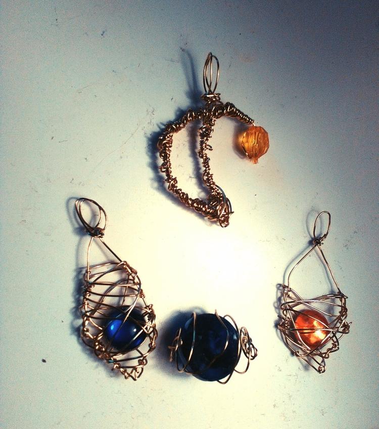batch wired jewellery today - diy - ruthohaganartist | ello