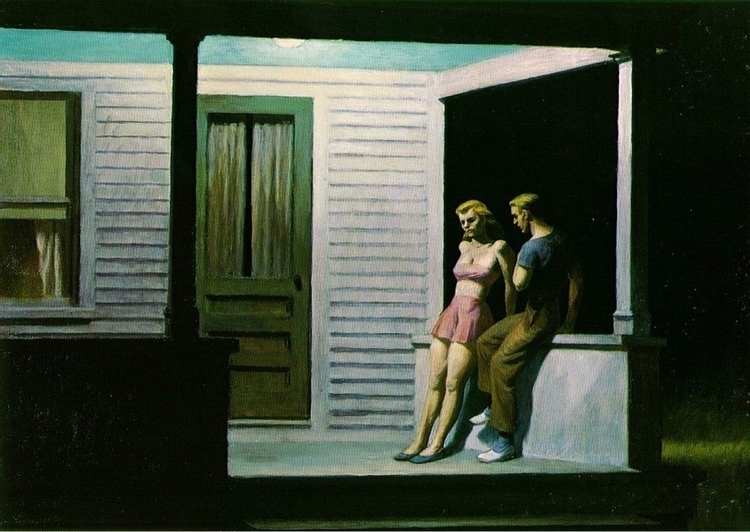 Summer Evening Edward Hopper 19 - bitfactory | ello