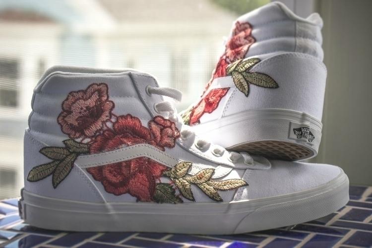 Diy vans - art, fashion, shoes, sneakers - iconoclast_xiii | ello