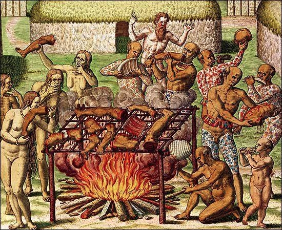scene cannibalism Theodor de Br - modernism_is_crap   ello