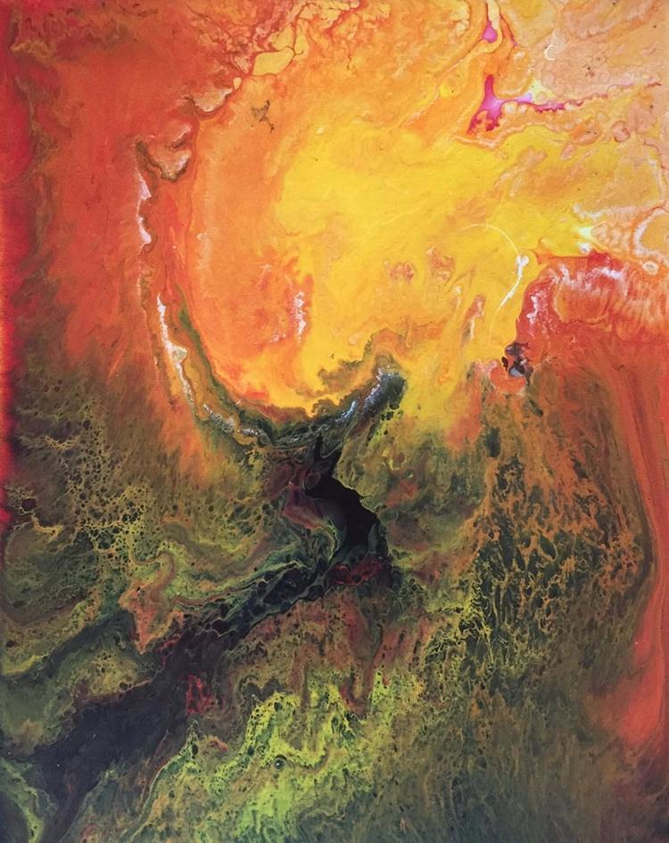 painting, abstract, art, photography - josh_ratzlaff | ello