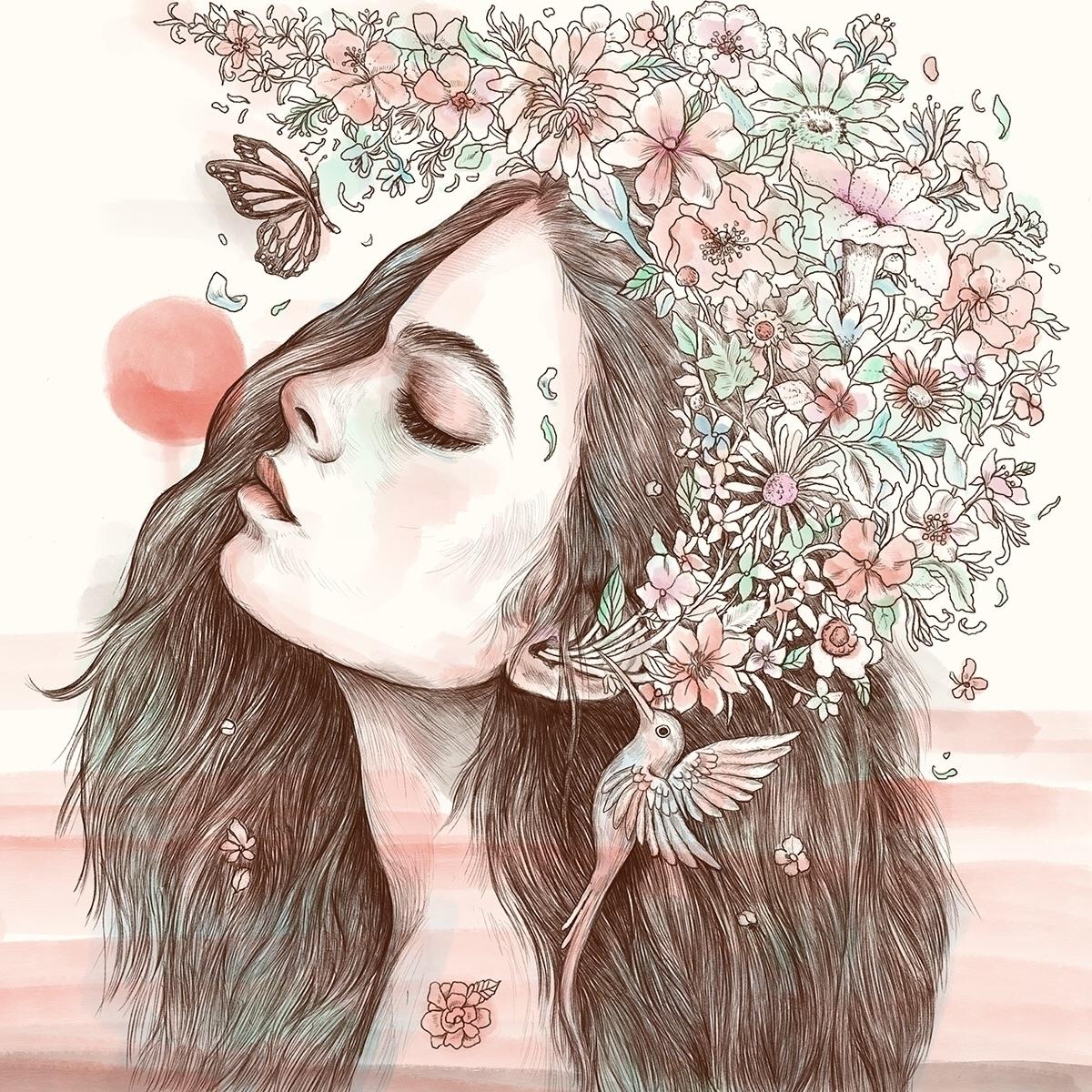 Sound Nature - illustration - normanduenas | ello