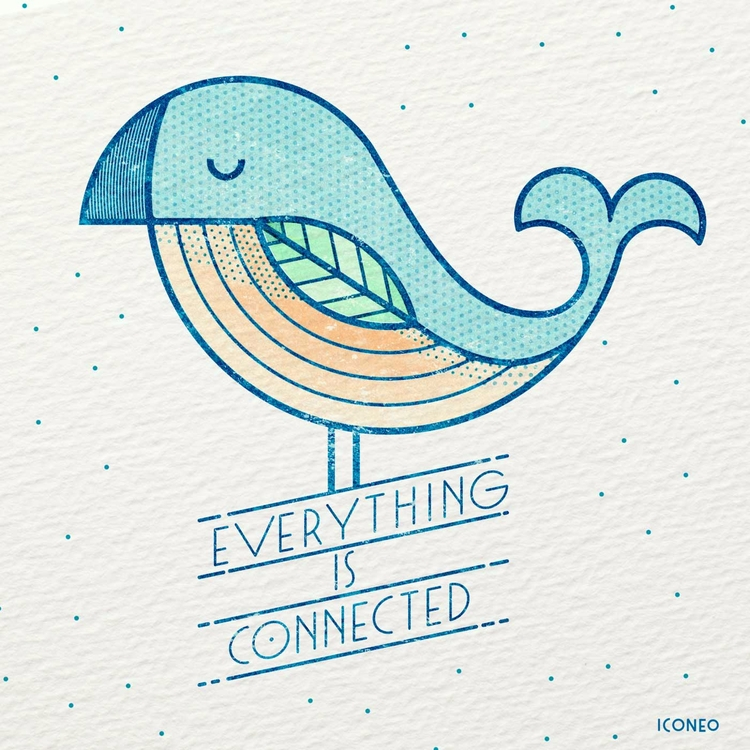 connected - illustration, design - iconeo | ello