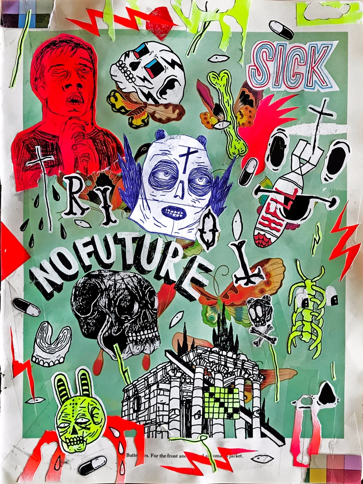 FUTURE / 2017 - art, lowbrow, outsiderart - micheleguidarini | ello