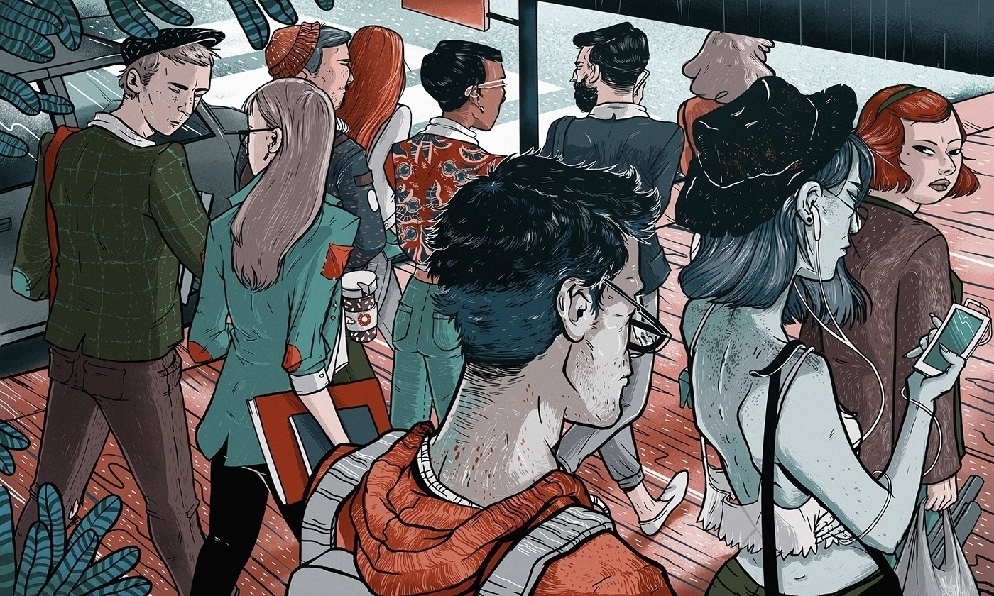 Alina Bohoru Portfolio - illustration - alinabo | ello