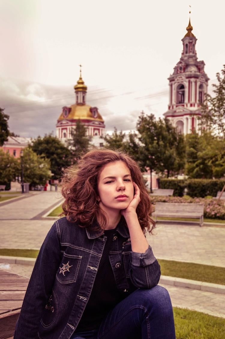 street, girl, Moscow, world, russia - kristelleart | ello