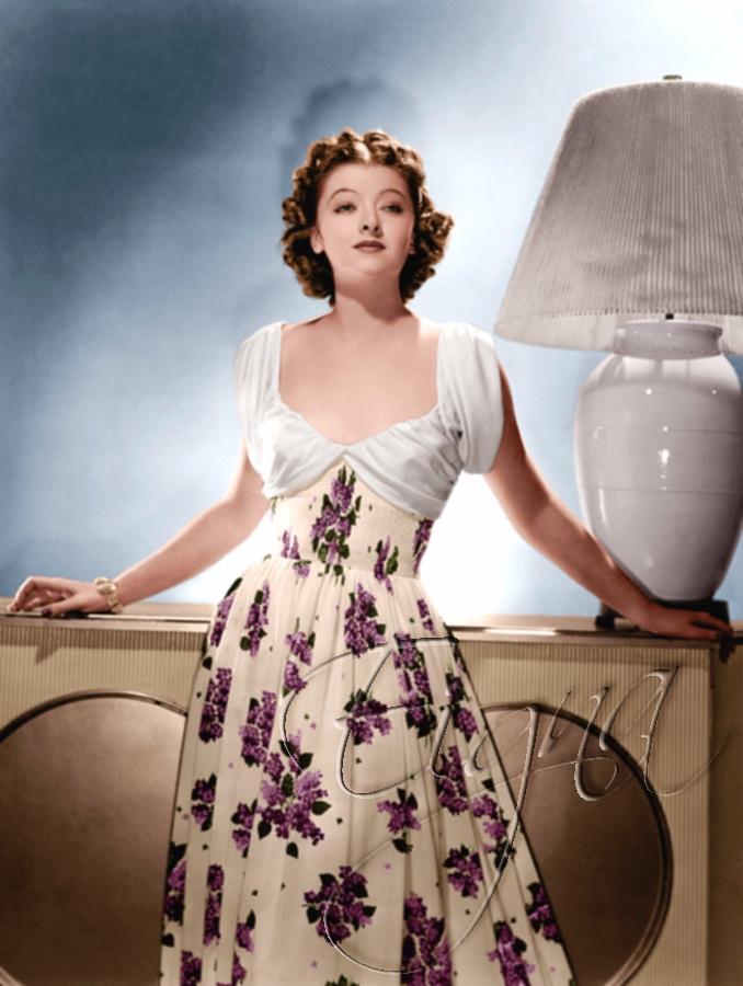 Myrna Loy 1939 - colormesixwaystosunday | ello