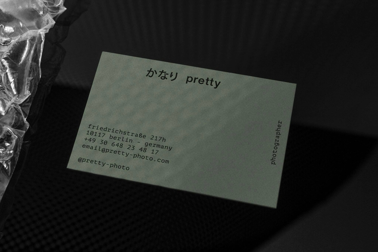 Business Cards Pretty - bureauherold - personherold | ello