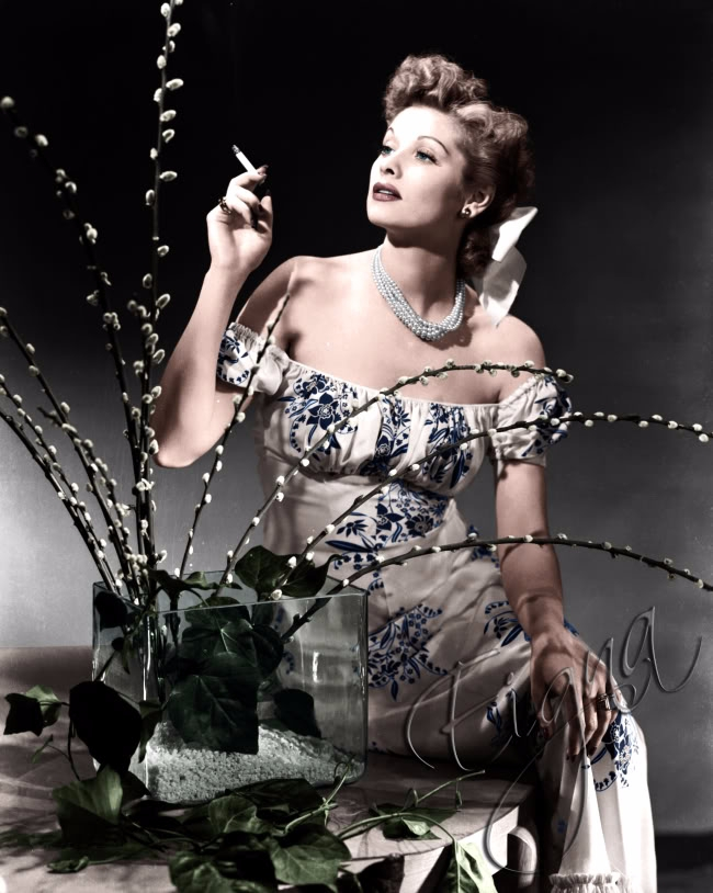 Lucille Ball Chesterfield Cigar - colormesixwaystosunday | ello