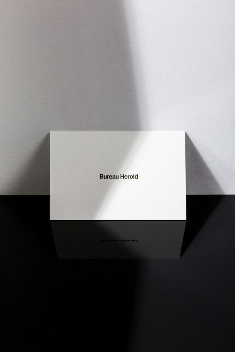 Business Cards white - bureauherold - personherold | ello
