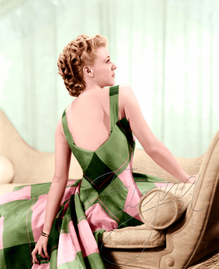 Ginger Rogers - colormesixwaystosunday | ello