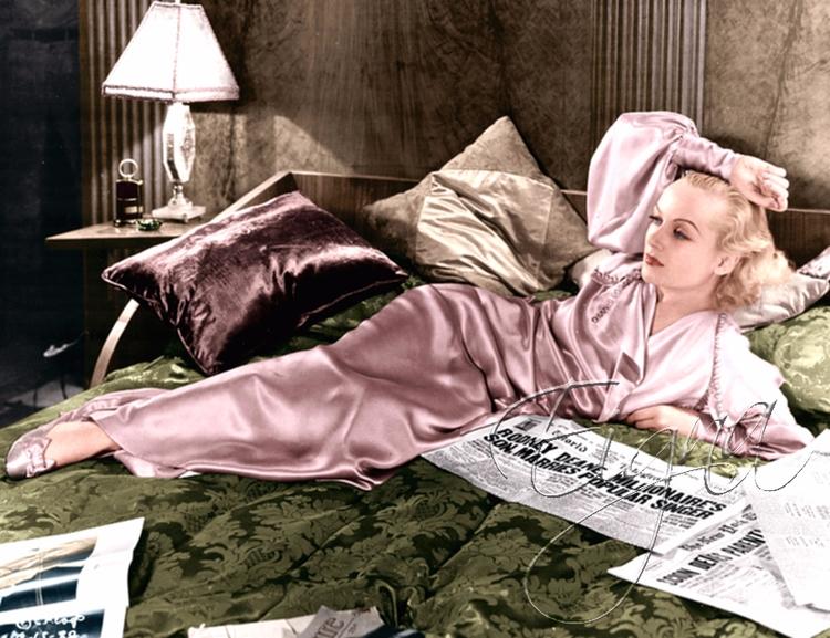Carole Lombard - colormesixwaystosunday   ello