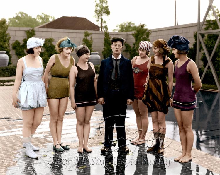 Buster Keaton Bathing Beauties - colormesixwaystosunday | ello