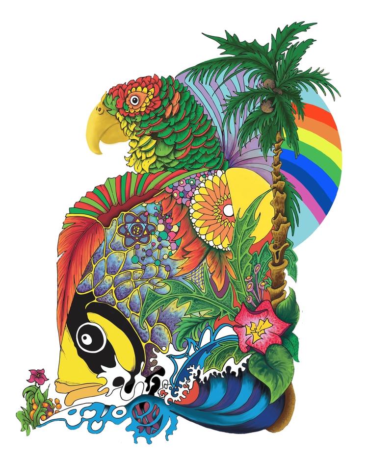 Iris Birdfish - iris, bird, fish - jorepetto | ello