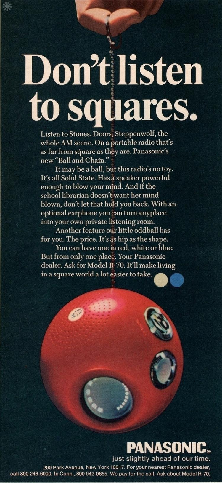 VintageAd, Panasonic - robogiggles | ello