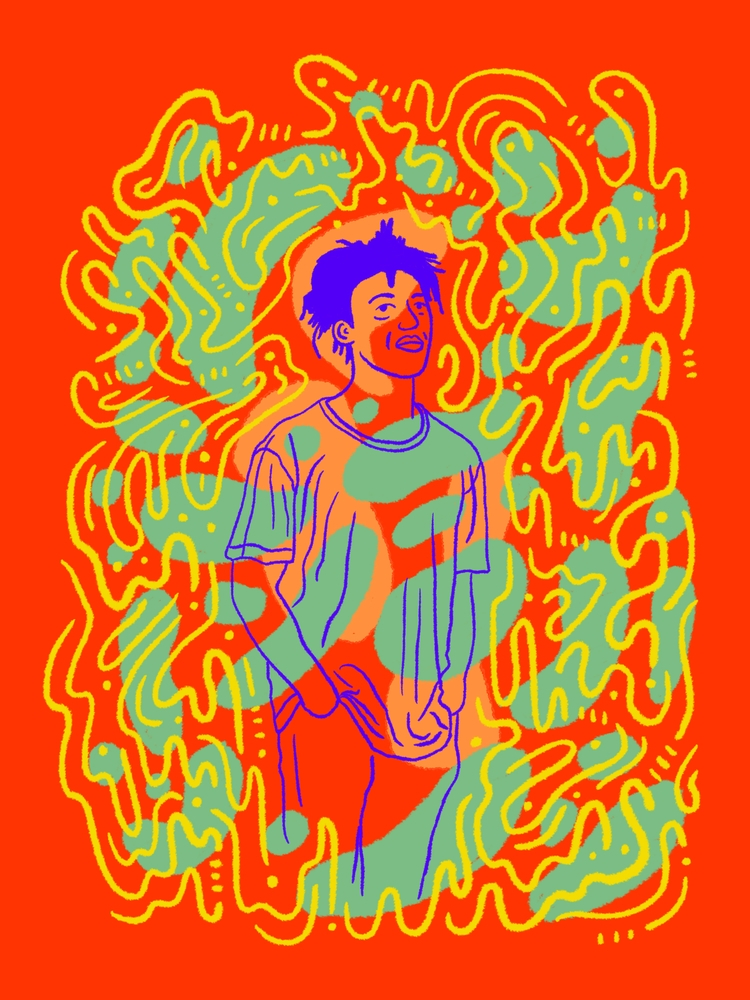 haze - illustration, illustrator - heybop | ello