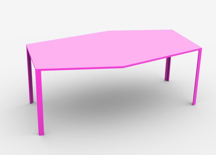Invaders Table - Design, 3d, Furniture - marcomariosimonetti | ello