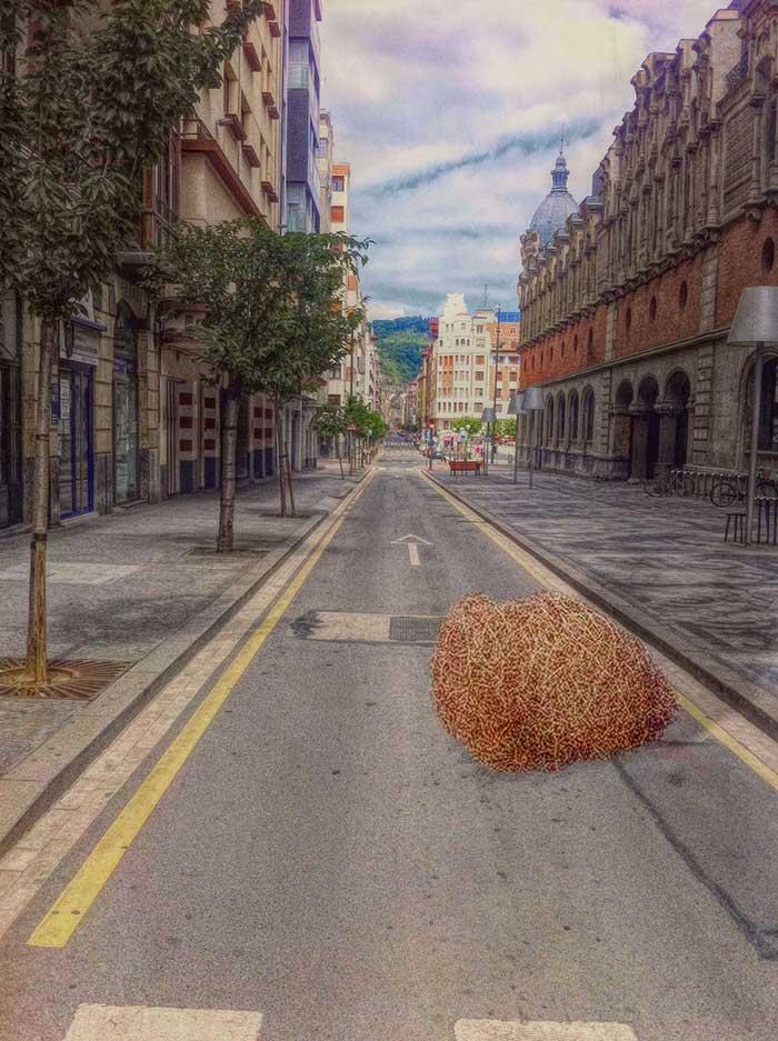 Duelo al Sol - Trump, Bilbao, WildWest - grafismo | ello