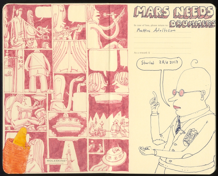 Mars drummers - mattiasadolfsson | ello