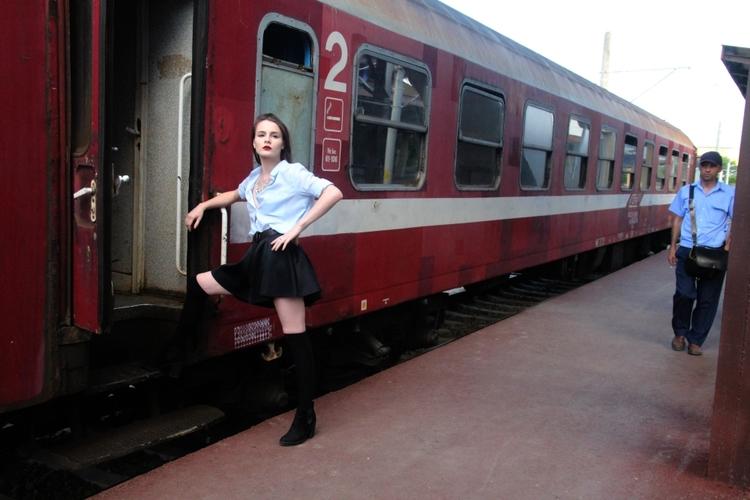 traveler railroad station - portrait - cornelgin | ello