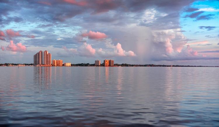 evening towers sunset showers M - christofkessemeier | ello