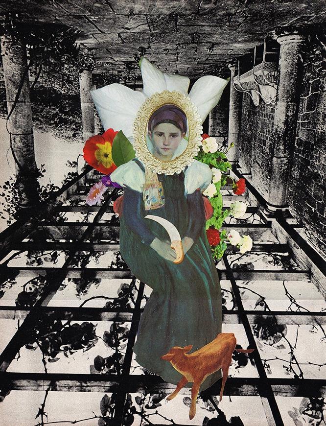 analog, collage, flowers - _fiorelaquiroz | ello