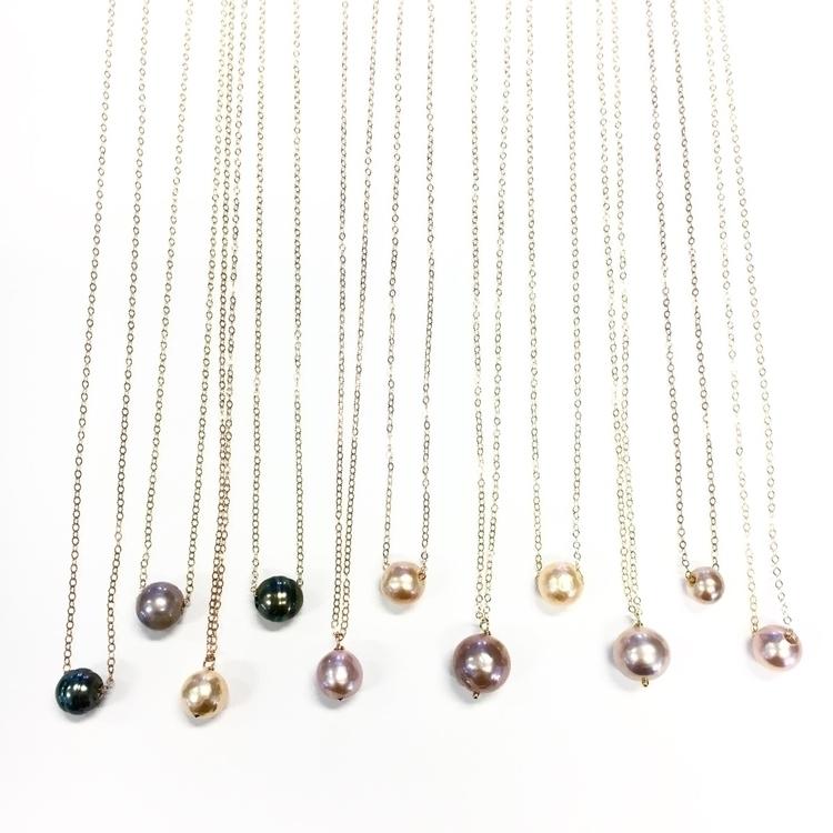 Edison tahitian pearl necklaces - ahonuexperience | ello