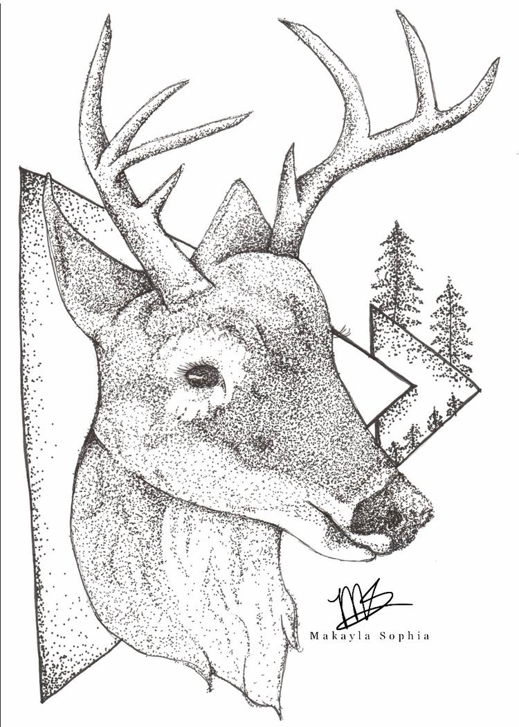 Sweet Deer - makaylasophia | ello