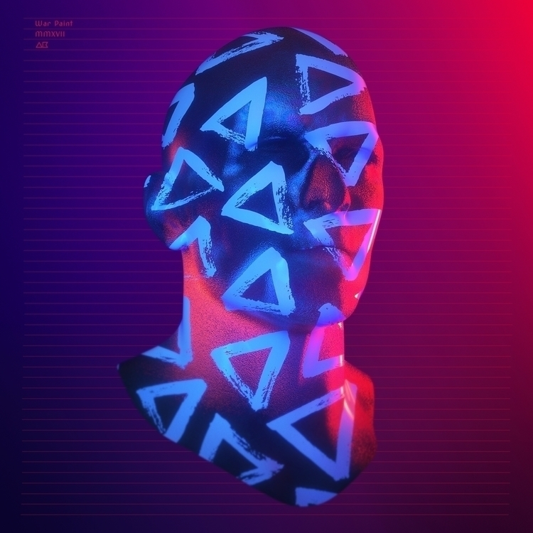 War Paint - 3D, Pattern, Color, MTL - aaaronkaufman | ello