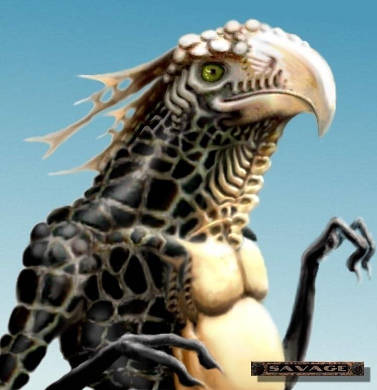 Raptor -------- Fantasy, abando - savageworlds   ello