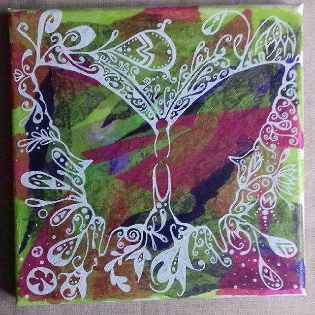 Butterfly collage link bio - bubsiekins | ello