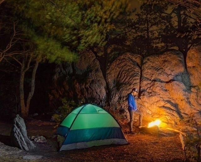 Colorful Campsite Camping favor - joetheeskimo | ello