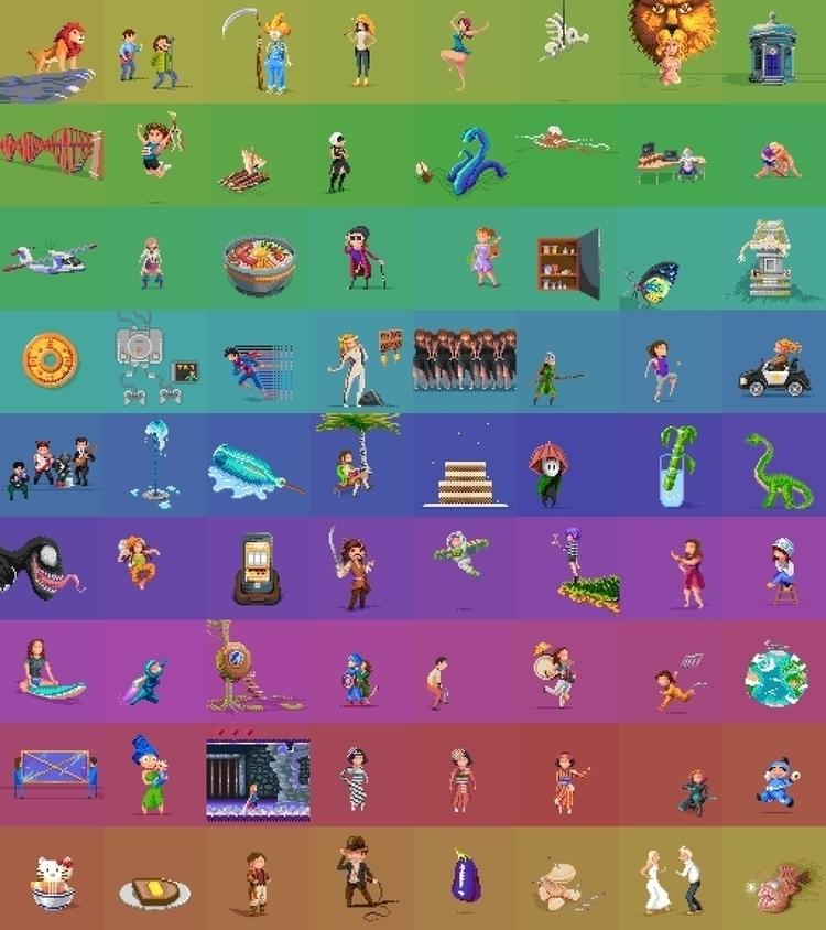 Pixel Dailies Collection - hivernoir | ello
