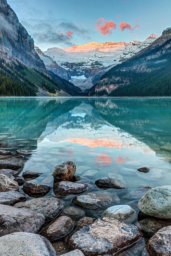 Dawn Lake Louise Banff, Nationa - paulearly   ello