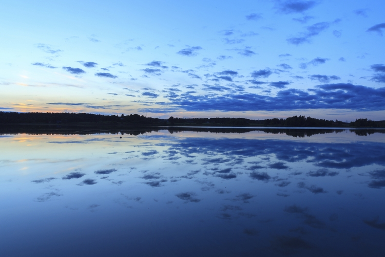 Clouds lake Pitkäjärvi - photography - anttitassberg | ello