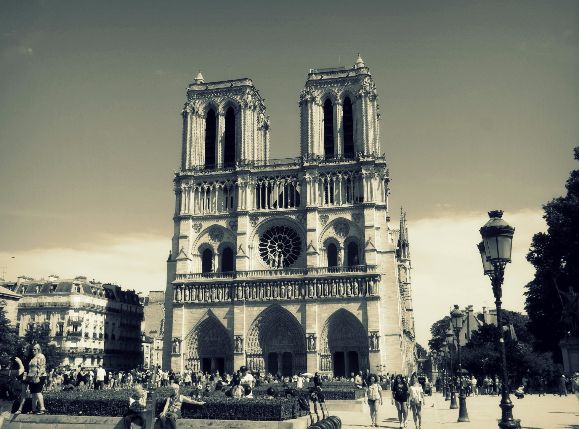 Travel, France, Paris, NotreDame - elizabeth_rose_77   ello