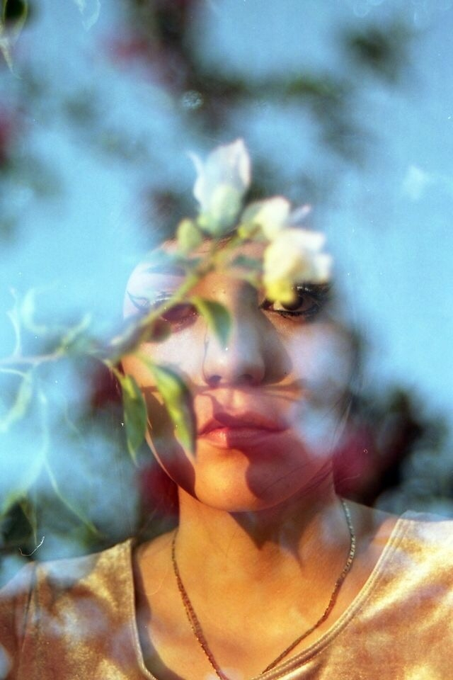double exposure Maria - portra160 - silkyy | ello