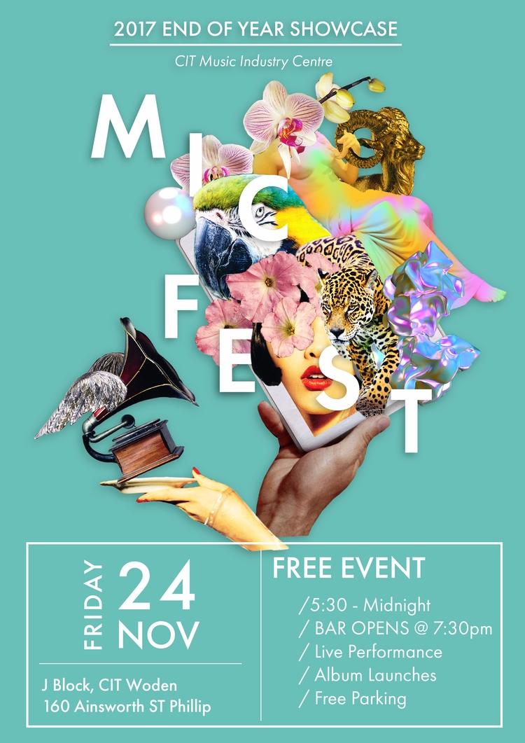 'MicFest' Poster Concept - Earl - tng-1317 | ello