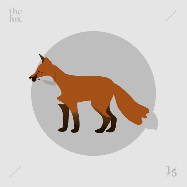 fox — La volpe - illustration, graphicdesign - un_quinto | ello