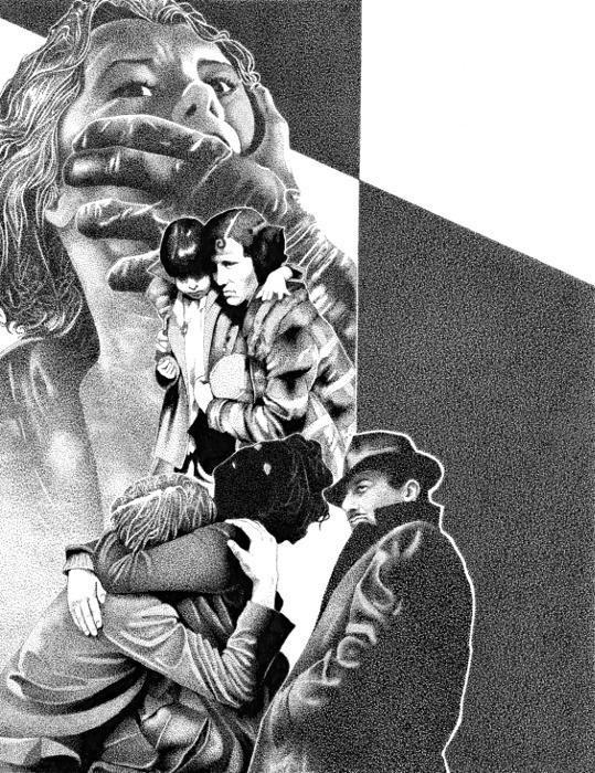 Collage illustration - collage, pen - renzorazzetto | ello